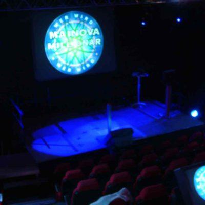 Event Quiz Bühne Licht Verleih