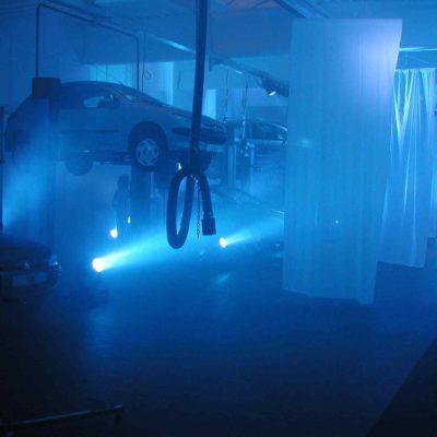 Event Lichttechnik Autohaus Vorstellung Neuwagen Party