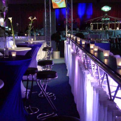 Lichtanlage Light Building Bar Veranstaltung Boxkampf
