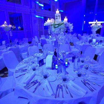 Beleuchtung Saal Feier Deckenbeleuchtung Veranstaltung Event Party LED
